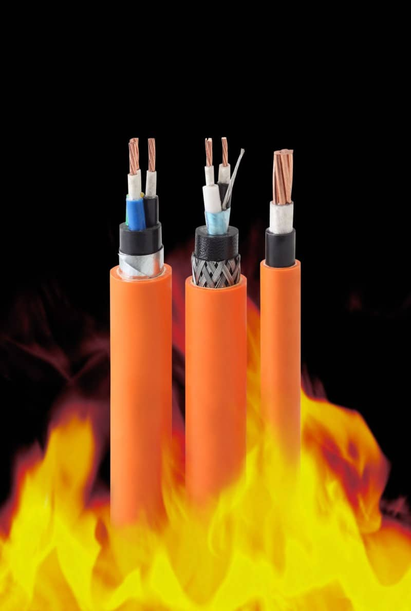 Fire resistant and flame retardant cabling are important safety features for new buildings