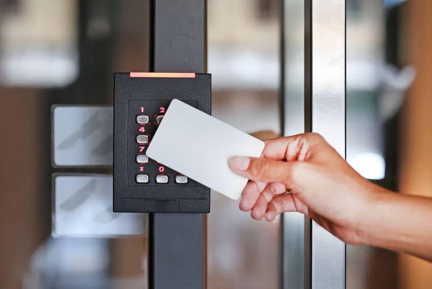 Access control system for a company