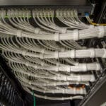 Cat6 cabling in a data center