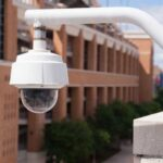 A security system with security cameras can enhance school safety.